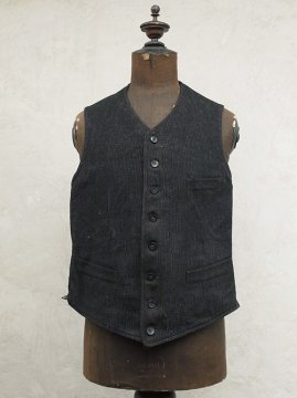 ~1930's striped wool gilet