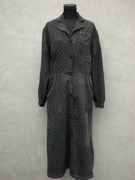 1930's printed work coat