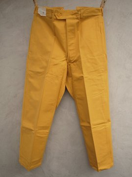 mid 20th c. cotton canvas work trousers