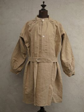 1950's French military linen smock HM dead stock