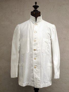 ~1930's white cotton colonial jacket