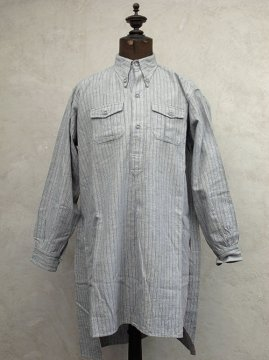 cir.1930-1940's striped cotton shirt