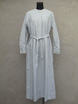 ~1930's striped cottton dress