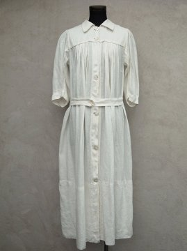 early 20th c. linen nurse dress