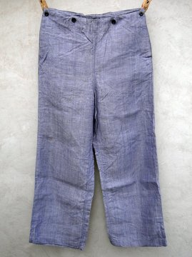 1960's linen sailor pants