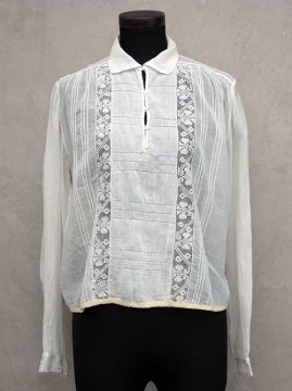 cir.1920-1930's white blouse