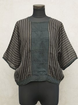 1910-1920's black striped top