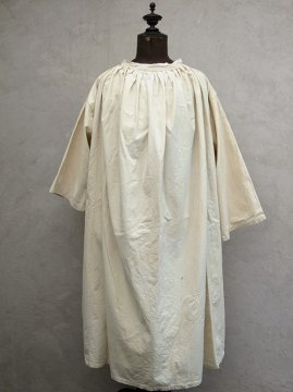 early 20th c. linen × cotton smock