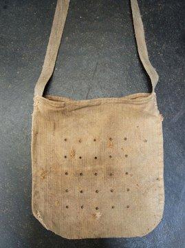 cir.1930's herringbone linen feed bag