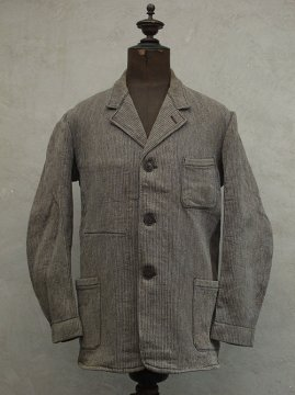 1940-1950's brown gray pique work jacket