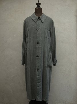 cir.1940's salt&pepper cotton atelier coat
