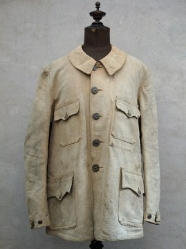~1930's linen hunting jacket
