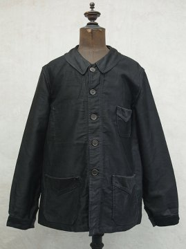 cir.1930's black moleskin jacket