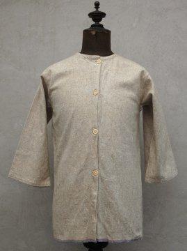 1930-1940's wool flannel gilet L/SL