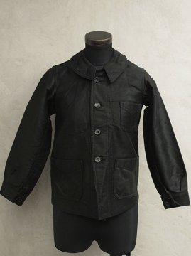 1930-1940's kid's black moleskin jacket dead stock