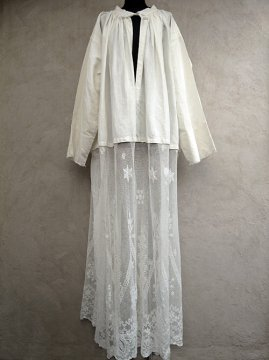 ~early 20th c. church long smock