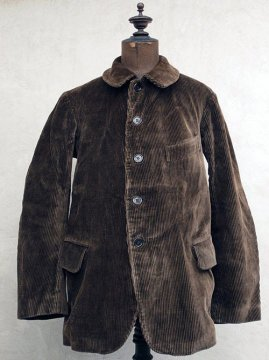 cir.1940's brown cord jacket