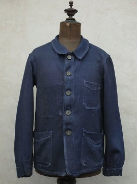cir.1930's indigo work jacket
