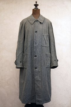 cir.1930's atelier coat salt & pepper herringbone