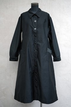1930's black cotton work coat dead stock