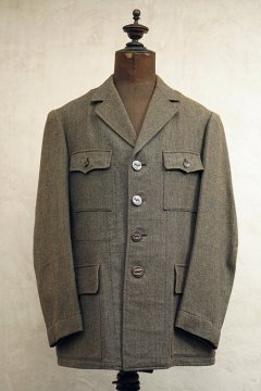 cir.1940-1950's wool hunting jacket