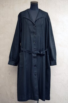 ~1930's black work coat