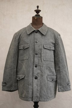 cir.1940's salt&pepper cotton hunting jacket