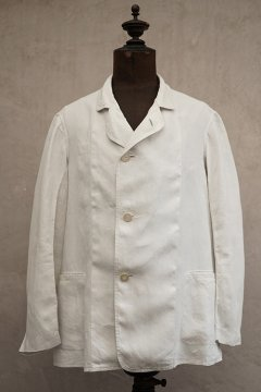early 20th c. white linen jacket