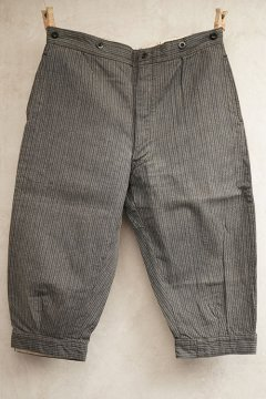 cir.1940's striped cotton plus fours