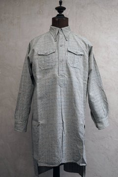 1930's checked cotton work shirt 2 pocket