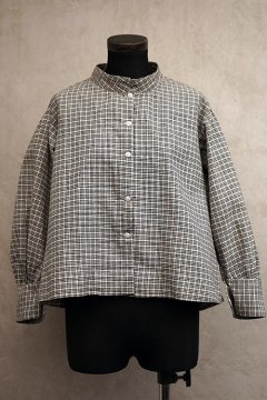 early 20th c. checked blouse