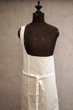 cir.1930's-1940's linen butcher apron