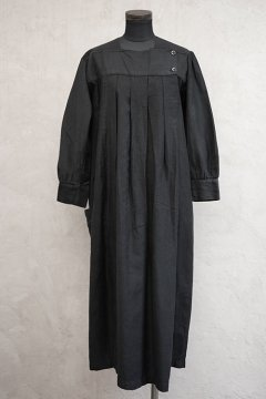 1920's-1930's black work dress