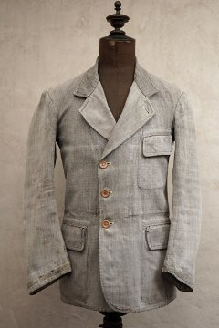 1930's salt&pepper cotton work jacket