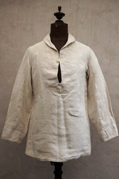1930's marine nationale linen sailor top