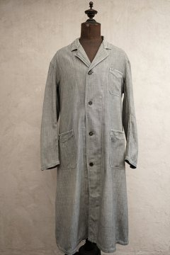 cir.1940s gray herringbone coat