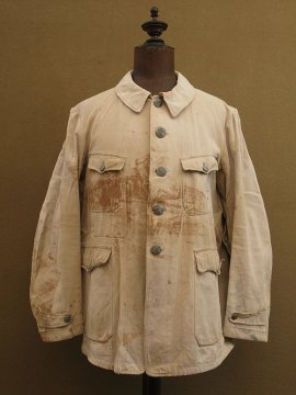 cir.1930's-1940's beige cotton hunting jacket