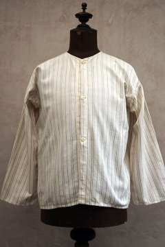 cir.1930's striped cotton blouse