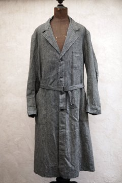 1940's salt&pepper atelier coat dead stock