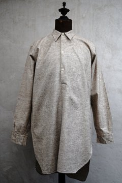 1930-1940's brown beige shirt dead stock