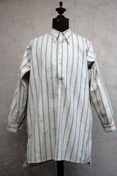 1930's striped cotton shirt dead stock