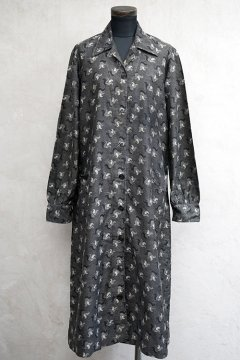 1930's-1940's printed work coat