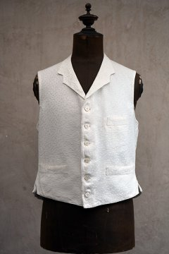 early 20th c. white gilet