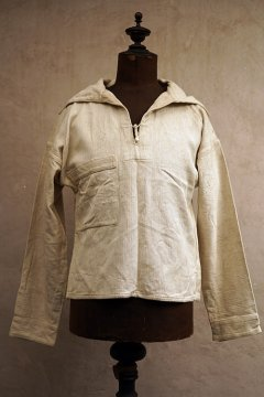 1930's-1940's German herringbone linen sailor top