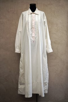 early 20th c. white long shirt