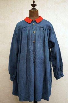 ~1930's indigo linen smock
