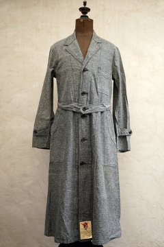 ~1940's salt&pepper atelier coat