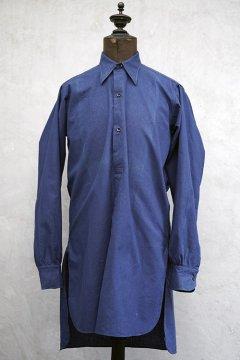 1930's-1940's blue work shirt dead stock