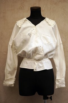 early 20th c. linen blouse