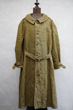 1940's French military linen M38 motorcycle coat